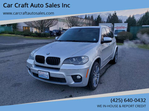 2012 BMW X5 for sale at Car Craft Auto Sales Inc in Lynnwood WA