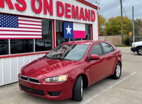 2010 Mitsubishi Lancer Sportback for sale at Cars On Demand 3 in Pasadena TX