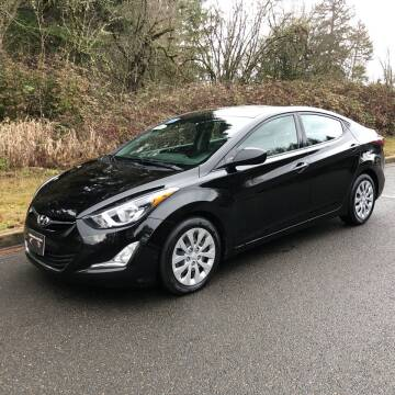 2014 Hyundai Elantra for sale at McMinnville Auto Sales LLC in Mcminnville OR