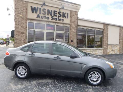 2010 Ford Focus for sale at Wisneski Auto Sales, Inc. in Green Bay WI