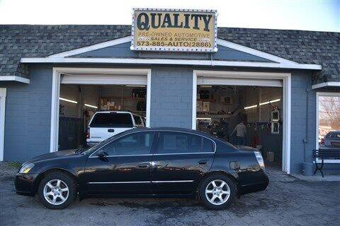 2005 Nissan Altima for sale at Quality Pre-Owned Automotive in Cuba MO