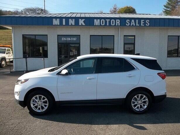 2020 Chevrolet Equinox for sale at MINK MOTOR SALES INC in Galax VA