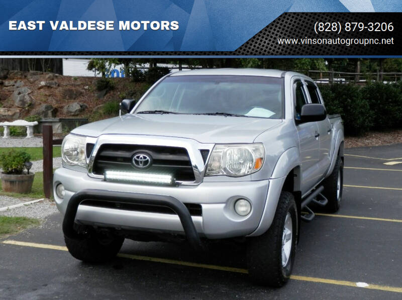 2008 Toyota Tacoma for sale at EAST VALDESE MOTORS / VINSON AUTO GROUP in Valdese NC