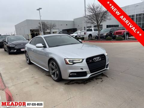 2014 Audi S5 for sale at Meador Dodge Chrysler Jeep RAM in Fort Worth TX