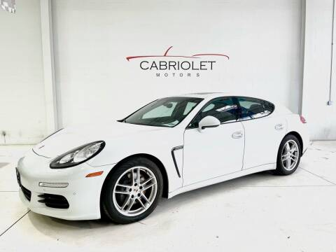 2014 Porsche Panamera for sale at Cabriolet Motors in Morrisville NC