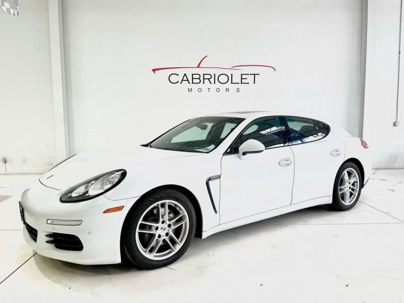 2014 Porsche Panamera for sale at Cabriolet Motors in Morrisville NC