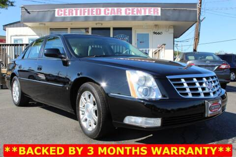 2010 Cadillac DTS for sale at CERTIFIED CAR CENTER in Fairfax VA