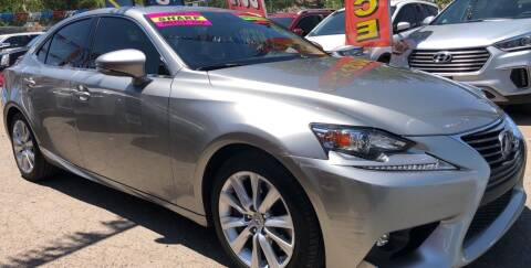 2016 Lexus IS 200t for sale at Duke City Auto LLC in Gallup NM