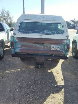 1970 Ford F-250 for sale at Good Guys Auto Sales in Cheyenne WY