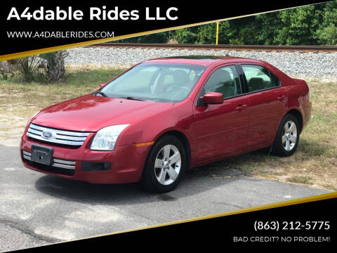 2009 Ford Fusion for sale at A4dable Rides LLC in Haines City FL