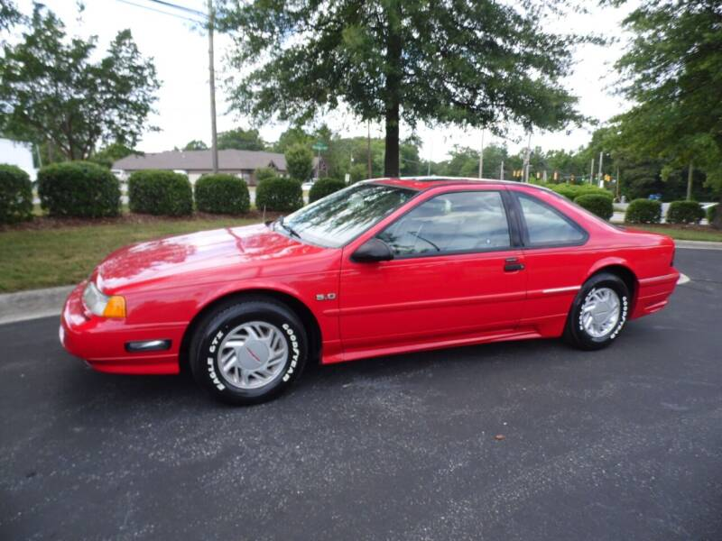 1992 Ford Thunderbird for sale at Carolina Classics & More in Thomasville NC