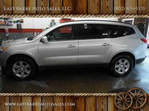 2010 Chevrolet Traverse for sale at East Barre Auto Sales, LLC in East Barre VT