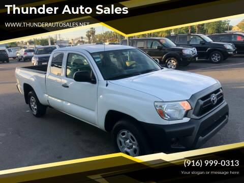 2015 Toyota Tacoma for sale at Thunder Auto Sales in Sacramento CA