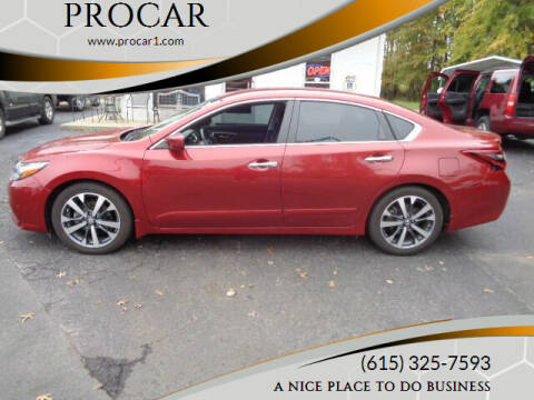 2017 Nissan Altima for sale at PROCAR in Portland TN