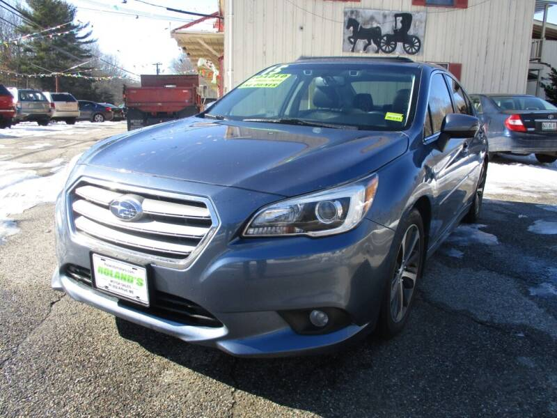 2015 Subaru Legacy for sale at Roland's Motor Sales in Alfred ME
