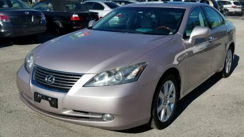 2007 Lexus ES 350 for sale at Ace Automotive in Houston TX