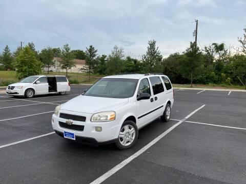 2008 Chevrolet Uplander for sale at Hatimi Auto LLC in Austin TX