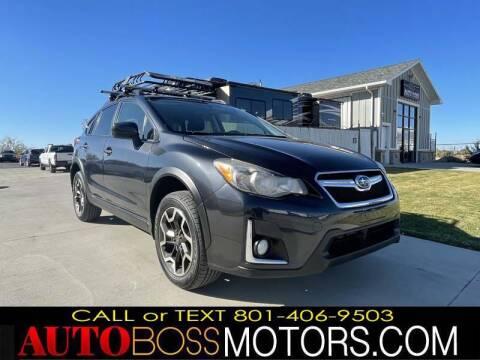 2017 Subaru Crosstrek for sale at Auto Boss in Woods Cross UT