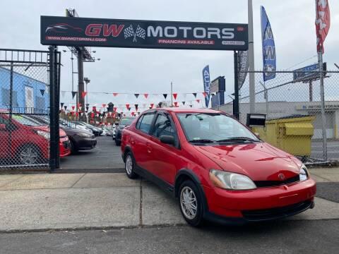2001 Toyota ECHO for sale at GW MOTORS in Newark NJ