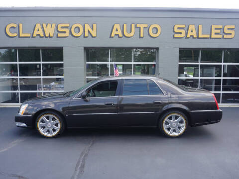 2007 Cadillac DTS for sale at Clawson Auto Sales in Clawson MI