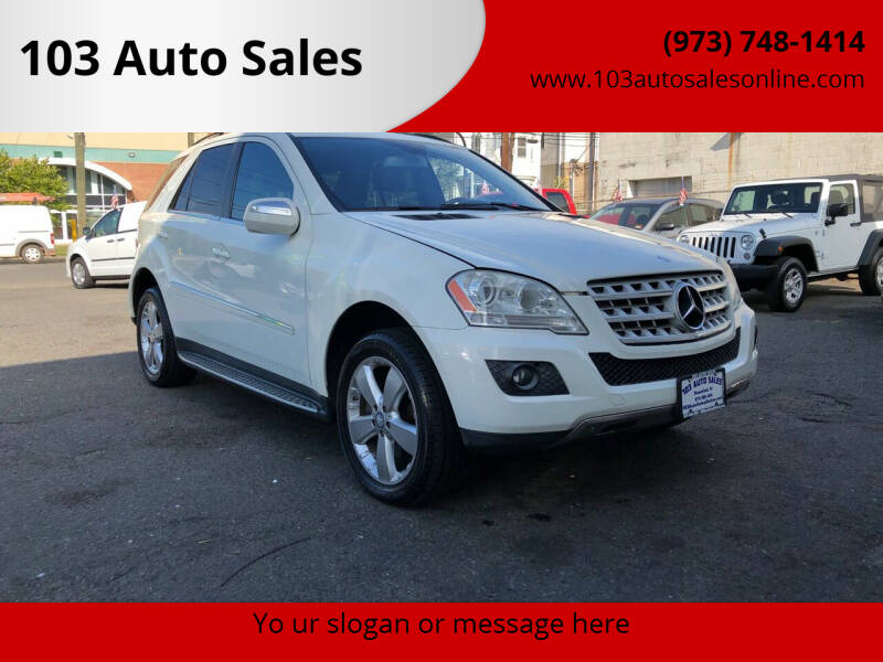 2010 Mercedes-Benz M-Class for sale at 103 Auto Sales in Bloomfield NJ