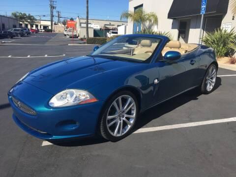 2007 Jaguar XK-Series for sale at MANGIONE MOTORS ORANGE COUNTY in Costa Mesa CA