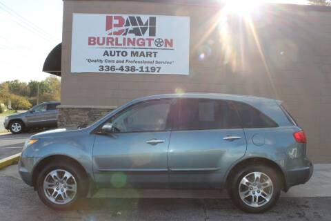 2008 Acura MDX for sale at Burlington Auto Mart in Burlington NC