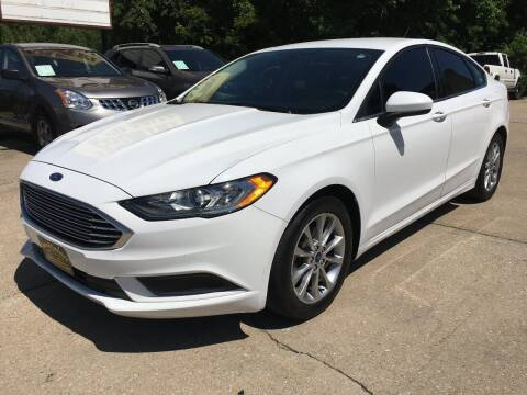 2017 Ford Fusion for sale at Town and Country Auto Sales in Jefferson City MO