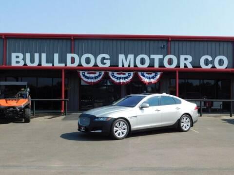 2016 Jaguar XF for sale at Bulldog Motor Company in Borger TX