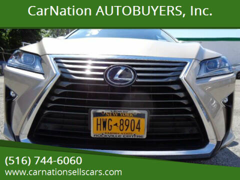 2017 Lexus RX 350 for sale at CarNation AUTOBUYERS, Inc. in Rockville Centre NY
