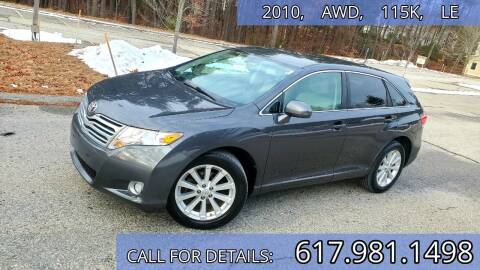 2010 Toyota Venza for sale at Wheeler Dealer Inc. in Acton MA