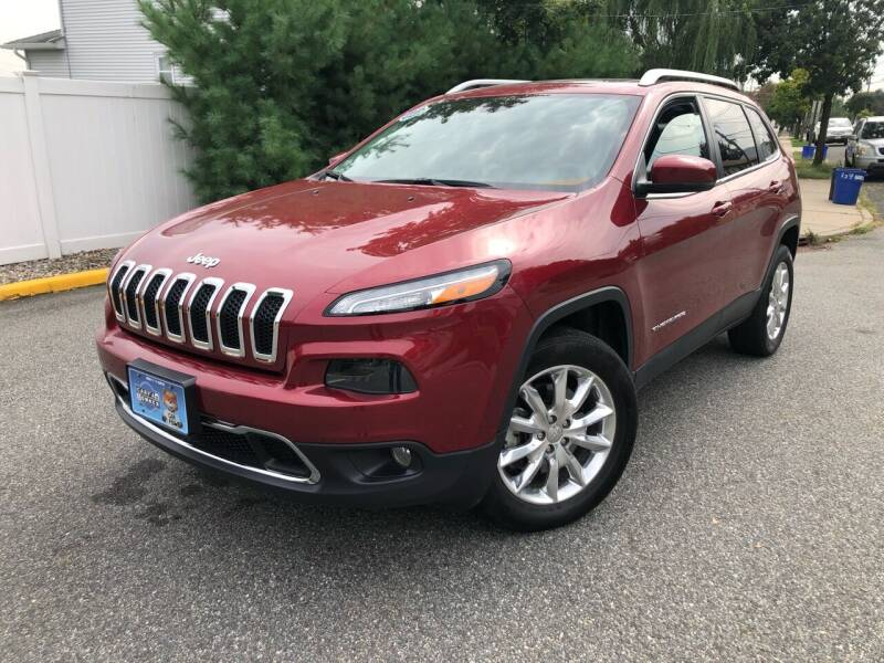 2014 Jeep Cherokee for sale at Giordano Auto Sales in Hasbrouck Heights NJ