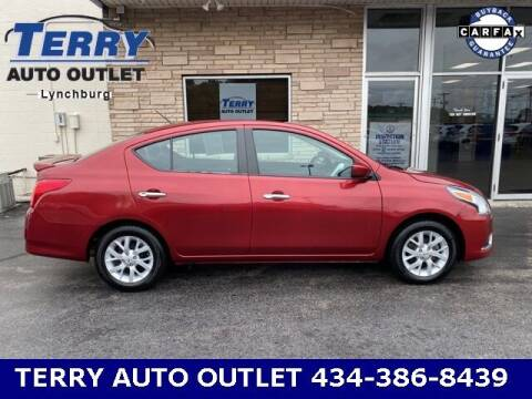 2018 Nissan Versa for sale at Terry Auto Outlet in Lynchburg VA