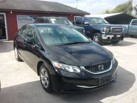 2013 Honda Civic for sale at Express AutoPlex in Brownsville TX