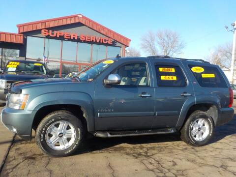 2008 Chevrolet Tahoe for sale at Super Service Used Cars in Milwaukee WI