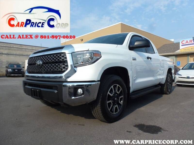 2018 Toyota Tundra for sale at CarPrice Corp in Murray UT