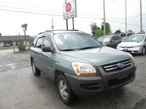 2007 Kia Sportage for sale at Motor Point Auto Sales in Orlando FL