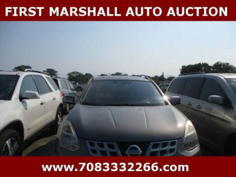 2012 Nissan Rogue for sale at First Marshall Auto Auction in Harvey IL