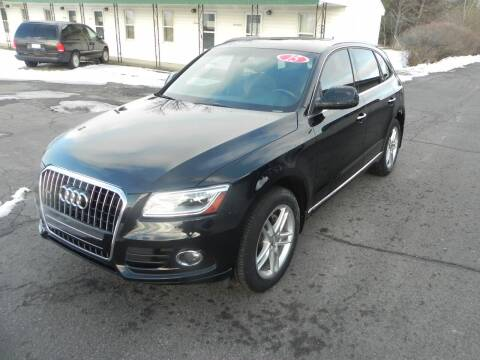 2015 Audi Q5 for sale at Thompson Car Company in Bad Axe MI