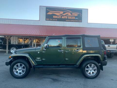 2007 Jeep Wrangler Unlimited for sale at Ridley Auto Sales, Inc. in White Pine TN