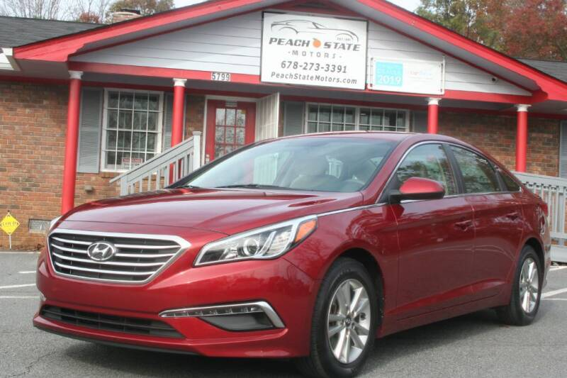 2015 Hyundai Sonata for sale at Peach State Motors Inc in Acworth GA