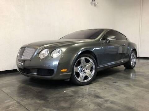2005 Bentley Continental for sale at BLACK LABEL AUTO FIRM in Riverside CA