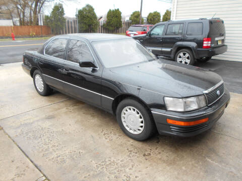 1990 Lexus LS 400 for sale at MARANO MOTORS INC in Sewaren NJ