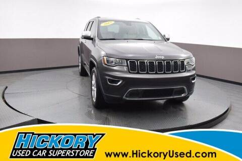 2017 Jeep Grand Cherokee for sale at Hickory Used Car Superstore in Hickory NC