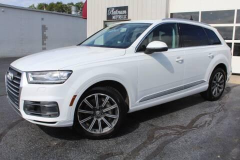 2017 Audi Q7 for sale at Platinum Motors LLC in Reynoldsburg OH