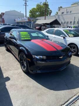 2014 Chevrolet Camaro for sale at 2955 FIRESTONE BLVD - 3271 E. Firestone Blvd Lot in South Gate CA
