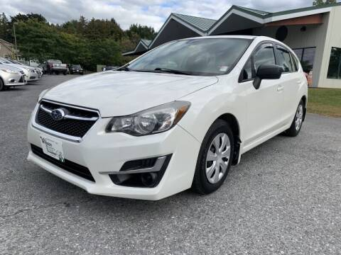 2015 Subaru Impreza for sale at Williston Economy Motors in South Burlington VT