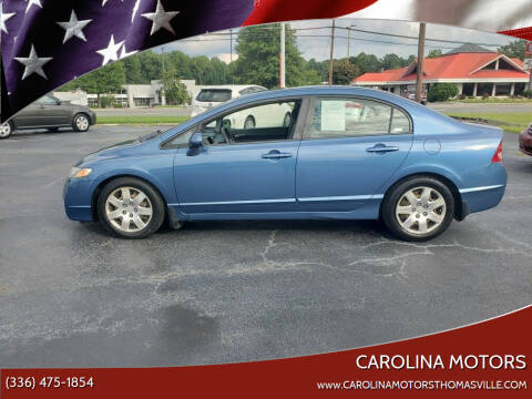 2009 Honda Civic for sale at CAROLINA MOTORS in Thomasville NC