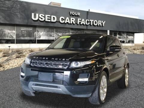 2013 Land Rover Range Rover Evoque for sale at JOELSCARZ.COM in Flushing MI
