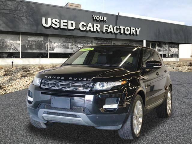 2013 Land Rover Range Rover Evoque for sale at JOELSCARZ.COM in Flushing MI